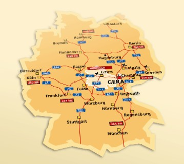 Deciding For Gera As Your Headquarter Is The Right Choice
